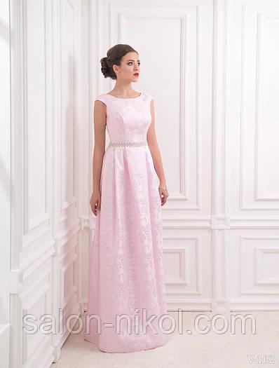 Вечернее, выпускное платье V-102