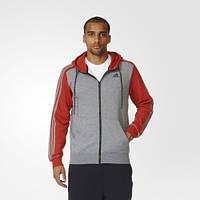 Мужская теплая худи adidas Sport Essentials 3-Stripes AY5483