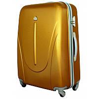 Чемодан сумка 882 XXL (средний) темно золотой