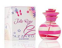 Женская туалетная вода Azzaro Jolie Rose (Аззаро Джоли Роуз)-цветочный аромат AAT