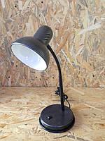 Настольная лампа  050  серебро антик