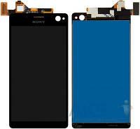 Дисплей (экраны) для телефона Sony Xperia C4 Dual E5333, Xperia C4 Dual E5343, Xperia C4 Dual E5363 + Touchscreen Black