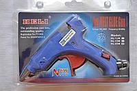 Клеевой пистолет Heli под 7мм стержни, 20W, c кнопкой HL-20W
