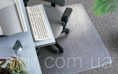 Защитный коврик Николь 2мм 1.25*2м , рифленый(антискользящий),полупрозрачный