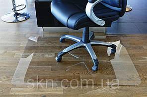 Защитный коврик Николь 2мм 1.25*2м , рифленый(антискользящий),полупрозрачный, фото 3