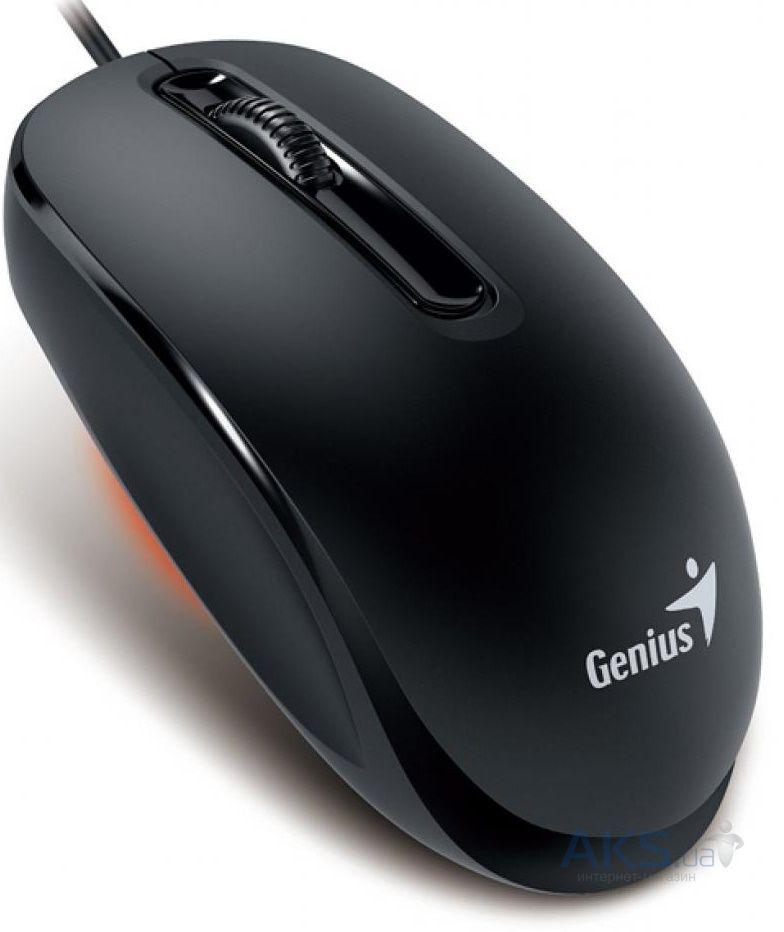 Компьютерная мышка Genius DX-130 USB (31010117100) Black