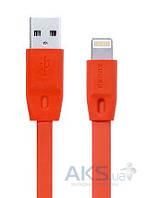 Кабель USB Remax Full Speed Lightning Сable 2M Red (RC-001i / 5-009)