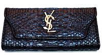 Кошелек женский YSL Yves Saint Laurent 23-8073 разные цвета на кнопке
