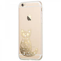 Чехол Hoco Super Star Series Inner Diamond Cat для iPhone 6/6S Plus, фото 1