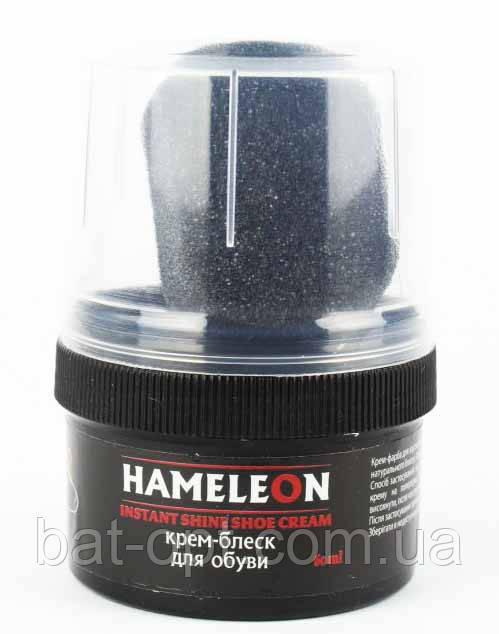 Крем для обуви ХАМЕЛЕОН черный 50мл