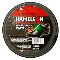 Крем для обуви шайба ХАМЕЛЕОН  черный 50мл