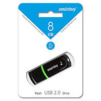 Флешка Smartbuy USB 8Gb Paean Black