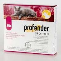Профендер для кошек 5-8кг штучный (упаковка х2 пипетки), красный