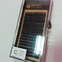 Ресницы Нейша изгиб С 0,07 9 мм