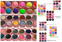 Набор цветных гелей Сanni 36 цветов матовые и перламутровые, фото 1
