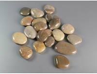 Декоративная галька камень глянцевый