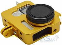 Aksline Рамка металлическая для GoPro HERO3 / HERO3+ / HERO4 (CNC Aluminum Frame) Yellow