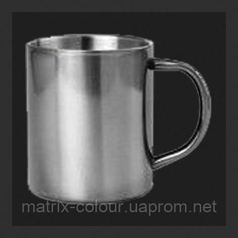 Нанесение изображения на чашку металлическую