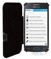 Чехол Status Book Series Samsung G350 Galaxy Star Advance Black Matte