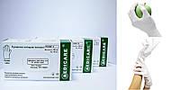 """Перчатки латексные смотровые нестерильные неопудренные """"Medicare"""" 100 шт/уп (XS,S,M,L,XL)"""