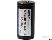 Keeppower аккумулятор Li-Ion 16340  3.7V (700mAh)