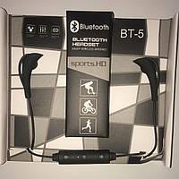 Наушники безпроводные Bluetooth headset BT-5 black
