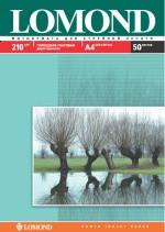 Фотопапір Lomond глянцевий / матовий ( формат А4 щільність 210 г/м2 двосторонній глянцево-матовий ) 50 листо