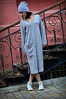 Женское платье трикотаж-ангора