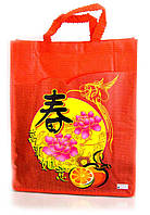 Большие красные пакеты подарочные Сердце Востока 12 шт./упаковка