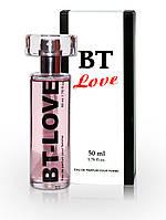 Туалетная вода с феромонами для женщин BT Love 50 ml for women. Бесплатная доставка Укрпочтой