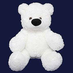 Мягкая игрушка: Плюшевый Медведь Бублик, 70 см, Белый