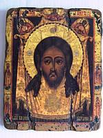 Икона большая в подарок Спас нерукотворный с Ангелами