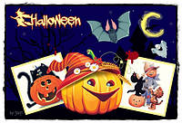 "Картинки для торта ""Хэллоуин"" А4 Галетте - 01262"