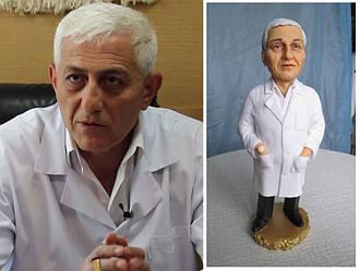 Статуэтка с портретным сходством (без дополнительных деталей)