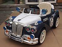 Детский электромобиль  Mercedes Benz BS 018 RETRO - СИНИЙ- купить оптом