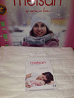 Электропростынь двухспальная Melsan Comfort MP101 04 140х160 cм; 2x60W; два пульта, Турция