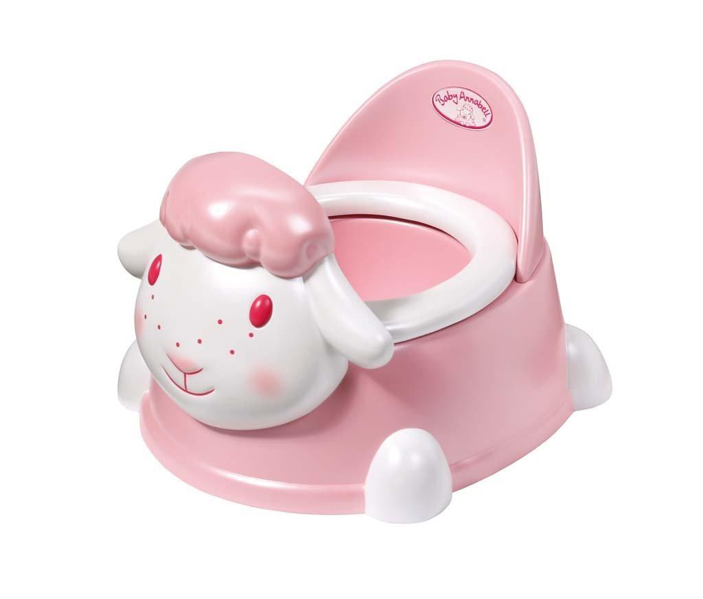 Горшок для куклы пупс Baby Annabell Беби Анабель интерактивный Овечка Zapf Creation 793763