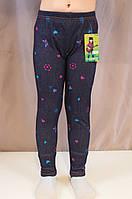 Модные красивые лосины на девочку под джинс
