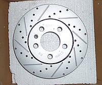 Перфорированный тормозной диск передний AUDI A1, SEAT CORDOBA/IBIZA, SKODA FABIA/OCTAVIA, VW GOLF/POLO