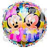 Воздушный фольгированный шар Микки и Минни Маус, 44 см