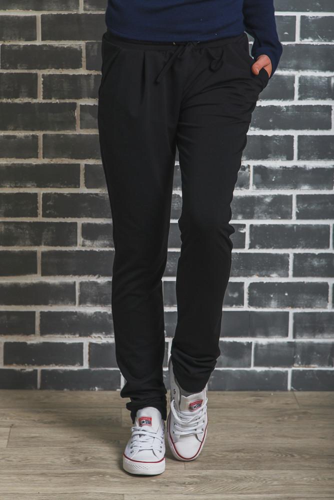 38aa26e9 Женские спортивные штаны на манжете черные: продажа, цена в ...