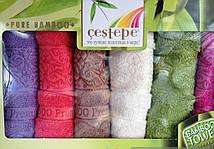 Бамбуковые кухонные полотенца Турция набор