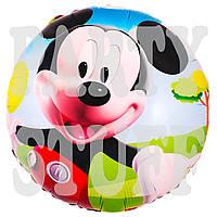 Фольгированный шарик Микки Маус, 45 см