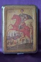 Икона Святого Димитрия Солунского дерево