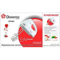 МИКСЕР РУЧНОЙ DOMOTEC DT-583, миксер Домотек, товары для кухни, мелкая техника