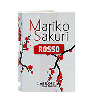 Духи с феромонами для женщин  Mariko Sakuri ROSSO 1 ml. Бесплатная доставка Укрпочтой