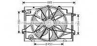 Диффузор радиатора охлаждения, в сборе с мотором и крыльчаткой HYUNDAI 253802E010 на Хундай Туксон
