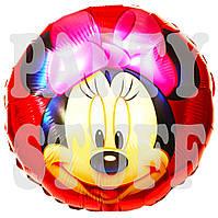 Фольгированный шарик Минни Маус, 44 см