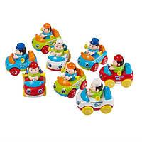 Инерционная машина Huile Toys, детские машинки 6 шт., инерционные машинки