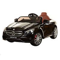 Детский электромобиль  Mercedes AMG S63: 2.4G, EVA, 8 км/ч, мягкое сидение - BLACK (TB)- купить оптом, фото 1